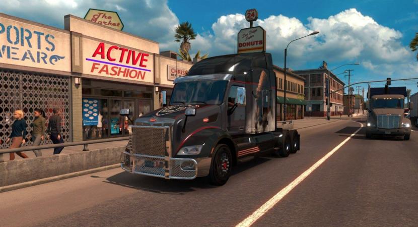 An Official American Truck Simulator Trailer