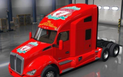Ats skins mod american truck simulator for Howell s motor freight