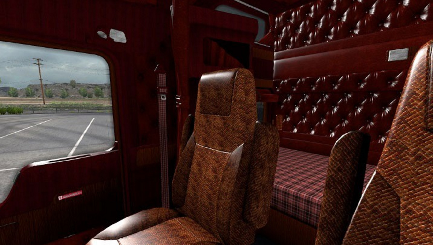 kenworth w900 interior ats mod american truck simulator mod